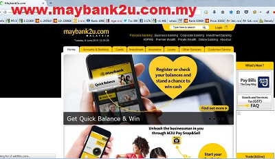 maybank2u original website
