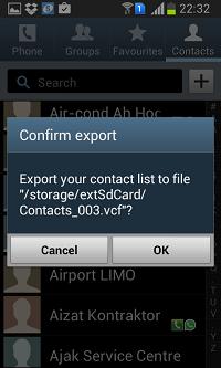 export contact