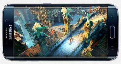 samsung s6 edge phone gaming option