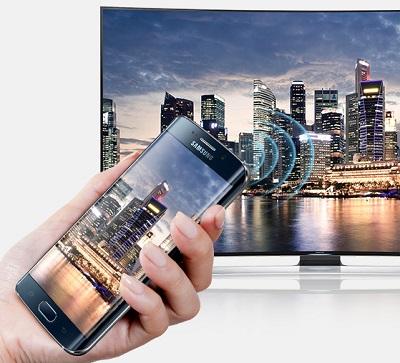 samsung s6 edge phone and tv