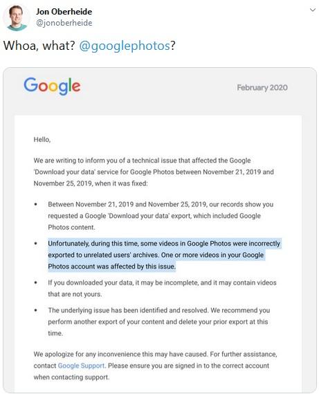 google memohon maaf kepada pengguna