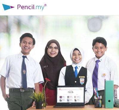 belajar secara online - pencil.my