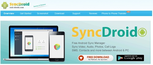 sync android smartphone and pc tools