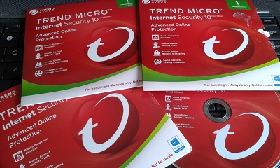 antivirus trend micro installation disc
