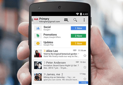 layout gmail
